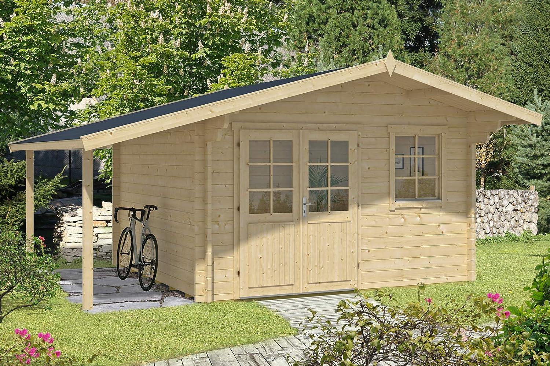 Alpholz Franco Premium - Caseta de jardín (44 mm de Grosor, 380 x 520 cm): Amazon.es: Jardín