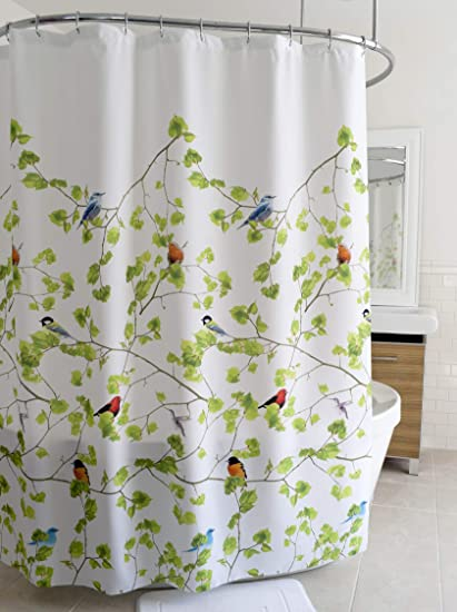 Splash Home Terrasse Polyester Fabric Shower Curtain 70quot X 72quot