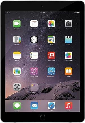Apple iPad Air 2, 64 GB, Space Gray, (Renewed)