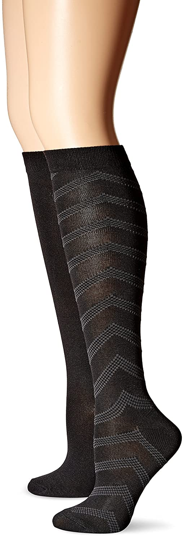 6680dd1c24e Hanes Women s ComfortSoft Knee High 2-Pack