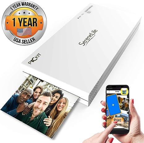 Amazon.com: Impresora de fotos portátil instantánea ...