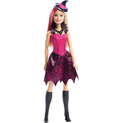 Barbie Halloween Witch Doll: Toys & Games [5Bkhe1004861]