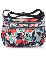 ABLE anti-splash water Shoulder Bag Casual Handbag Messenger bag Crossbody Bags Multi-functional pocket design: can plug flat, book, wallet, etc
