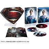 """マン・オブ・スティール """"S""""シールド プレミアムBOX 3D付き (5,000BOX限定生産) [Blu-ray]"""