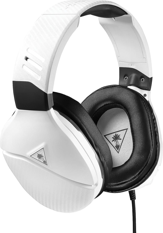 Turtle Beach Recon 200 Auriculares de Juego Amplificados PS4, PS5 y Xbox One, Blanco: Amazon.es: Videojuegos