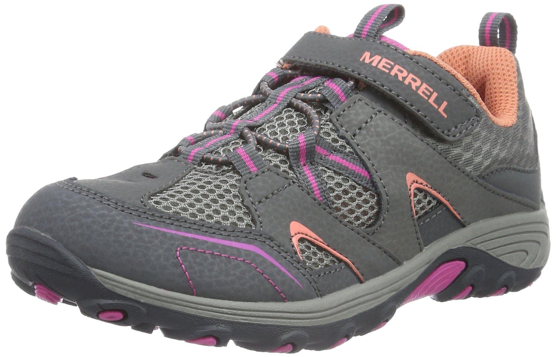 Merrell Trail Chaser Hiking Shoe (Little Kid/Big Kid), Multi, 7 M US Big Kid by Merrell