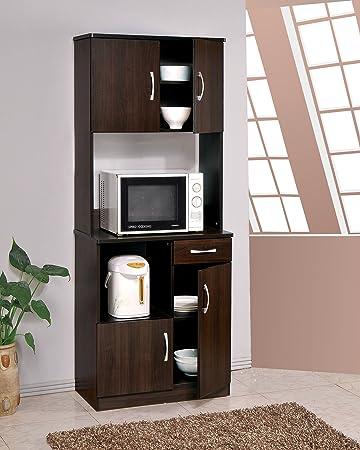 Genial ACME Furniture Quintus Kitchen Cabinet , Espresso