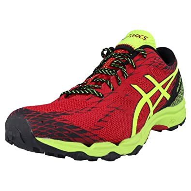 Asics Chaussures Rouge Gel Fuji Lyte TrailRunning Homme