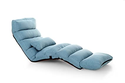 Super Kingmys Comfortable Folding Sofa And Lounge Chair Blue Cjindustries Chair Design For Home Cjindustriesco