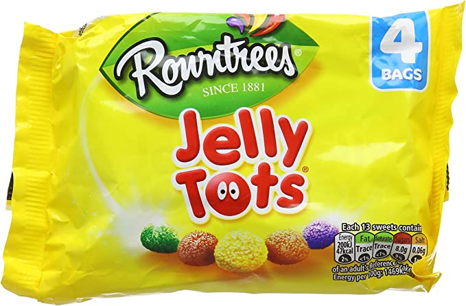 mini bags of jelly tots