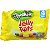 Rowntree's Jelly Tots Multipack 4 x 28g, 112g (Pack of 10)