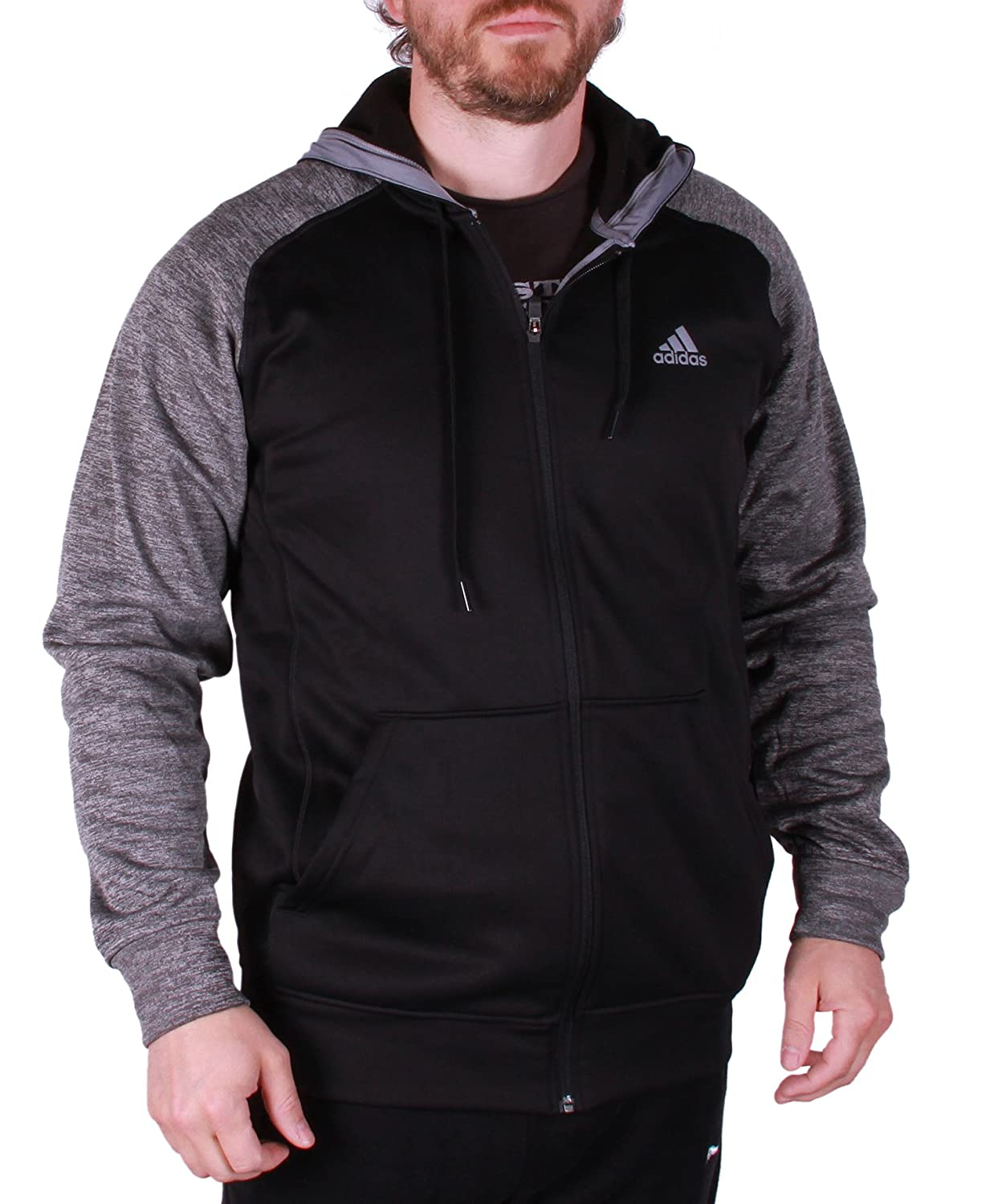 adidas Mens Tech Fleece Hooded Training Sweatshirt