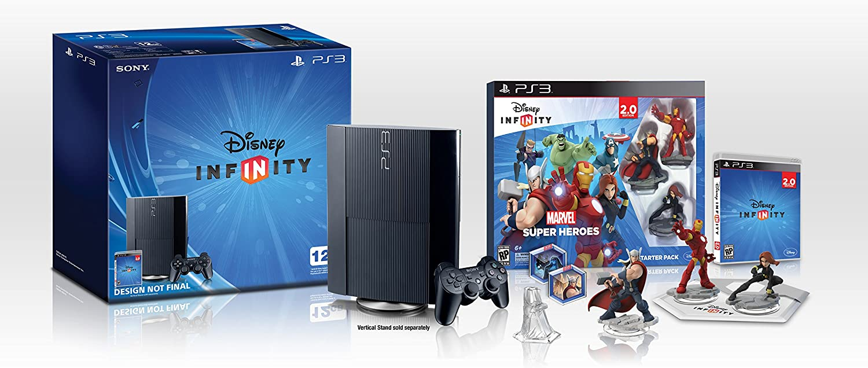 Disney Infinity Marvel Super Heroes 2.0 Edition PlayStation 3 12GB Bundle