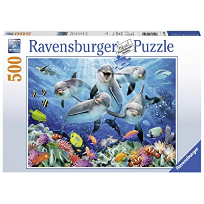 Ravensburger Dolphins Jigsaw Puzzle (500 Piece): Toys & Games [5Bkhe1101154]