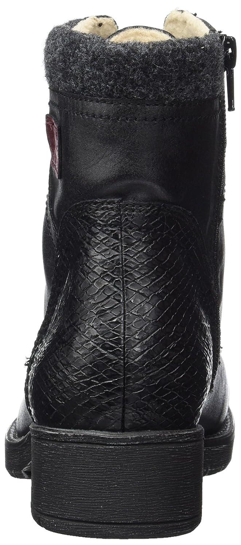 Softline Damen (schwarz) 25261 Combat Stiefel Schwarz (schwarz) Damen cb94ba