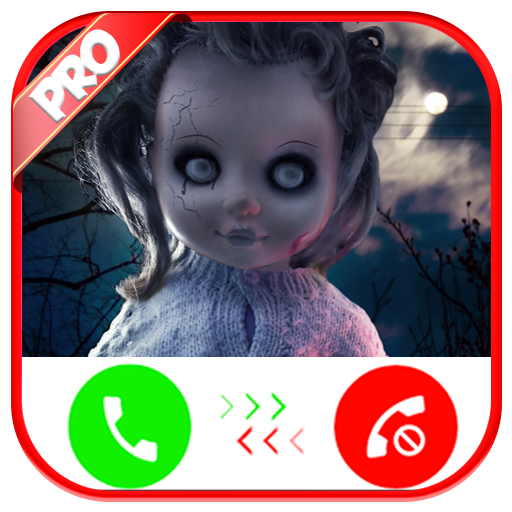 Fake Call From Scary Doll - Free Fake Phone Call ID PRO And Free Fake Text Message - PRANK FOR KIDS 2019