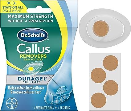 Dr Scholl's Duragel Callus Removers