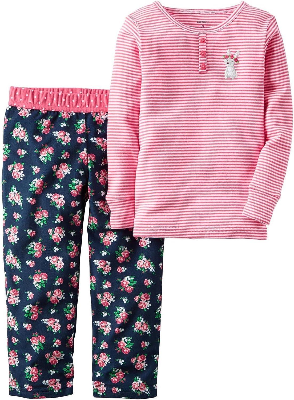 Carters Baby Girls 2 Pc Fleece 337g144