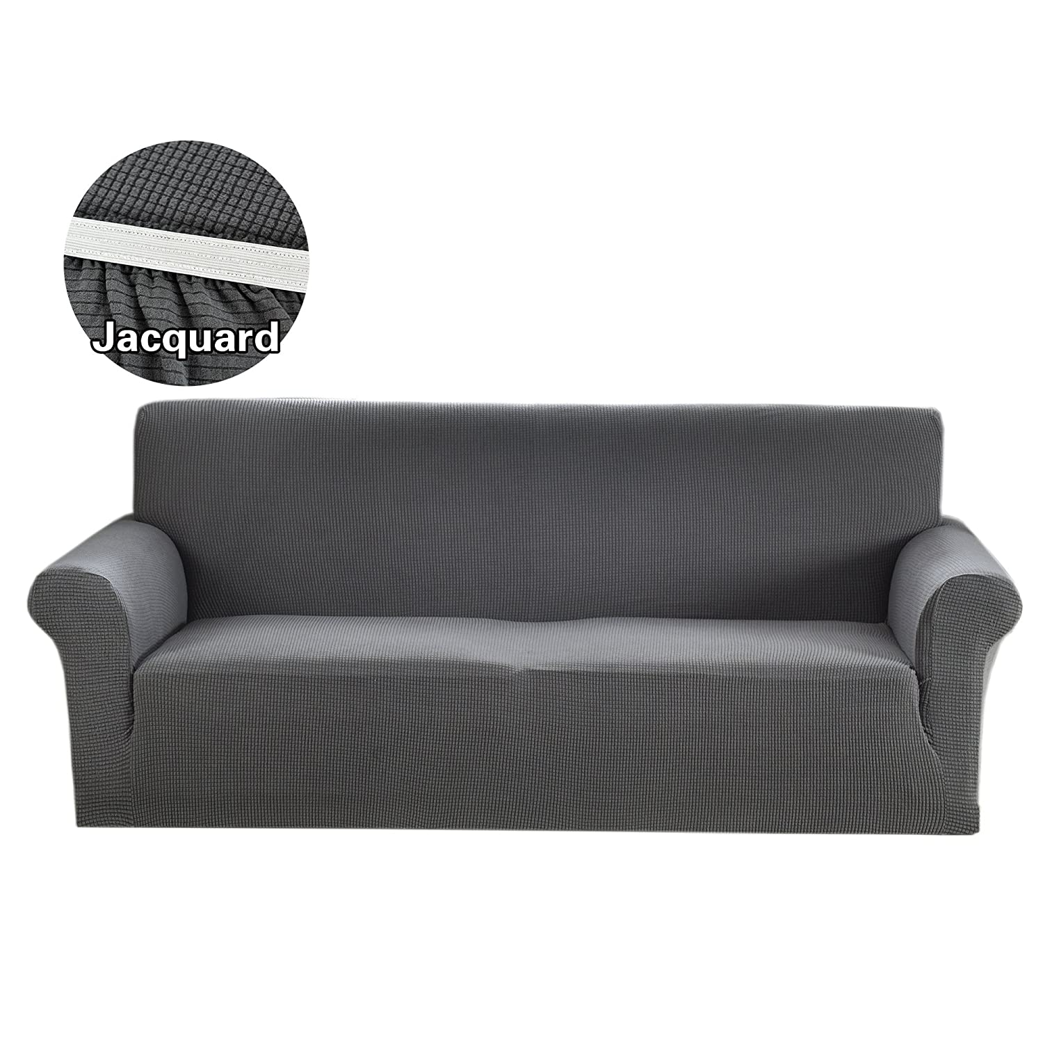 Amazon 1 Piece Loveseat Covers Spandex Polyester Slipcover