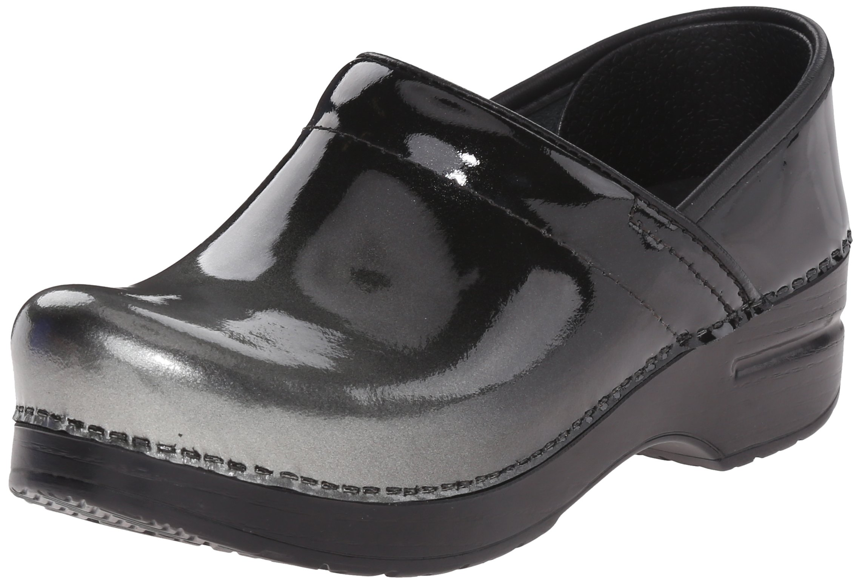 Dansko Women's Professional Grey Ombre Patent Mule, 42 EU/11.5-12 M US