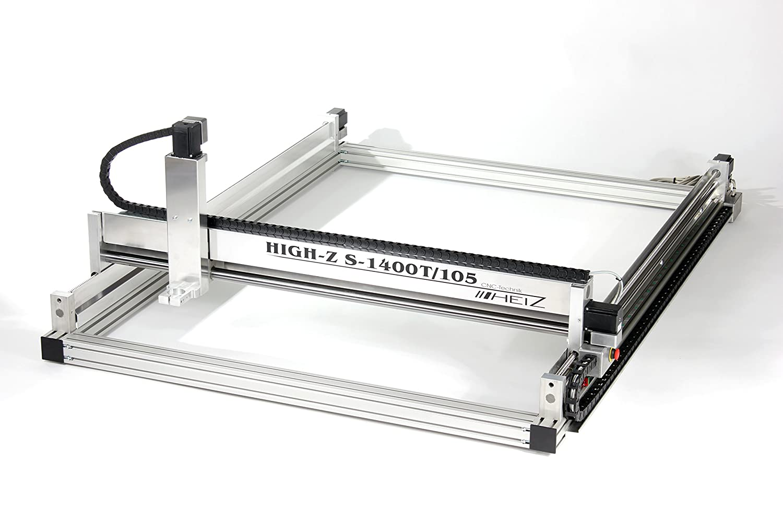 CNC Fräse High-Z S-1400/T - 1400x1050mm mit Kugelgewinde - CNC-STEP ...