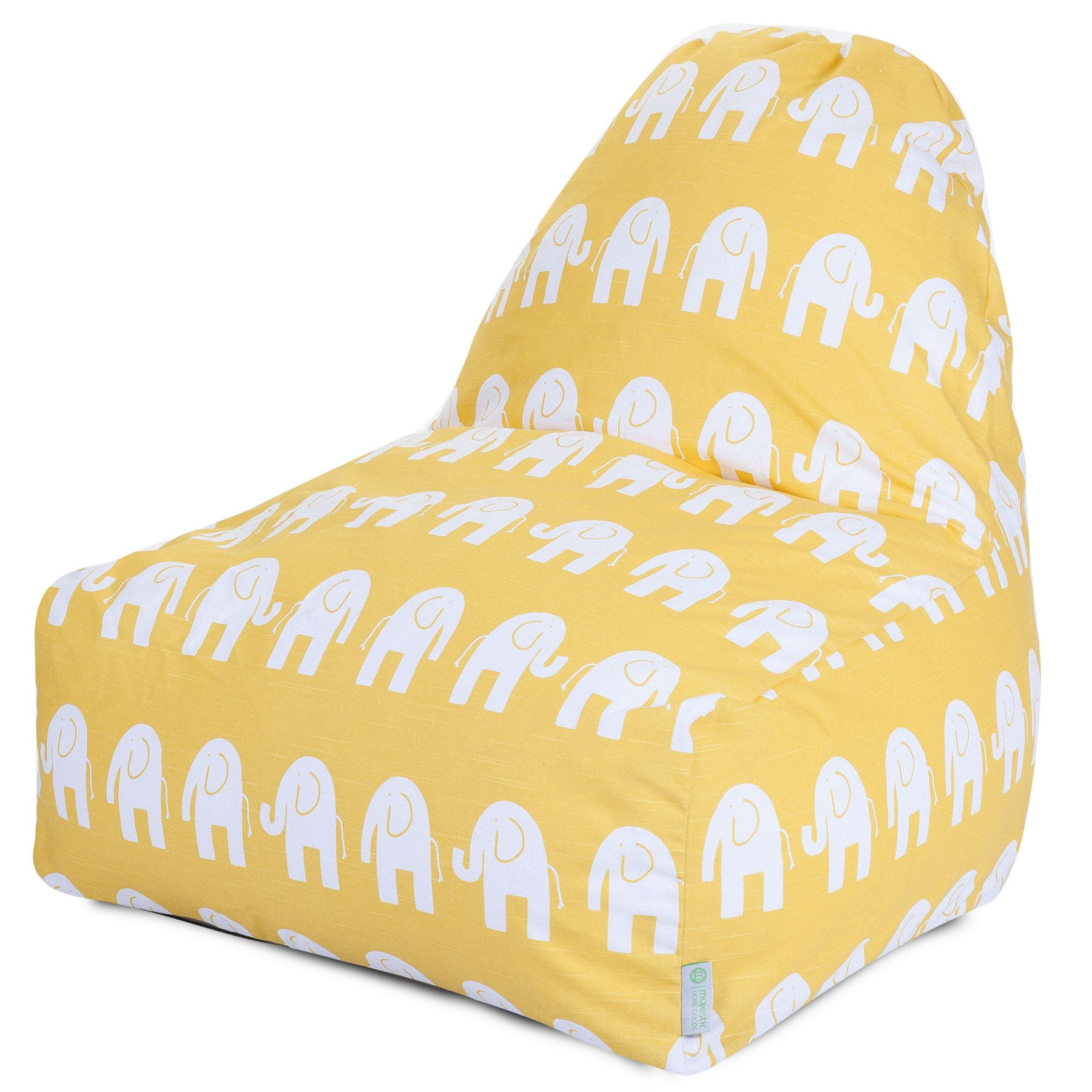 Majestic Home Goods Kick-It Chair, Yellow Ellie