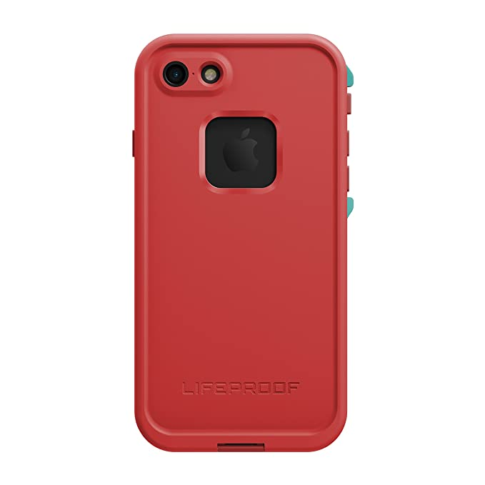 quality design 9f201 7446b Lifeproof FRĒ SERIES Waterproof Case for iPhone 7 (ONLY) - Retail Packaging  - EMBER RED (RACE RED/FLAME RED/LIGHT TEAL)