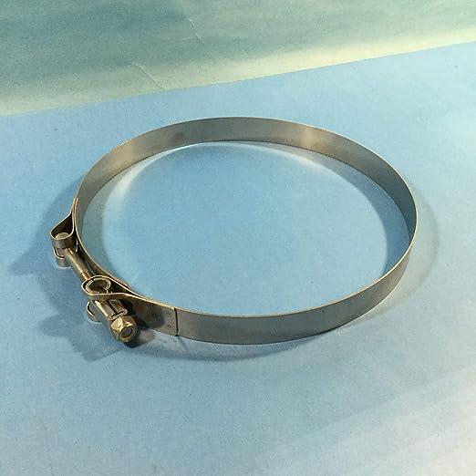 DIXON  7 inch Heavy Duty Stainless Steel T-Bolt Hose Clamp HSTBC700