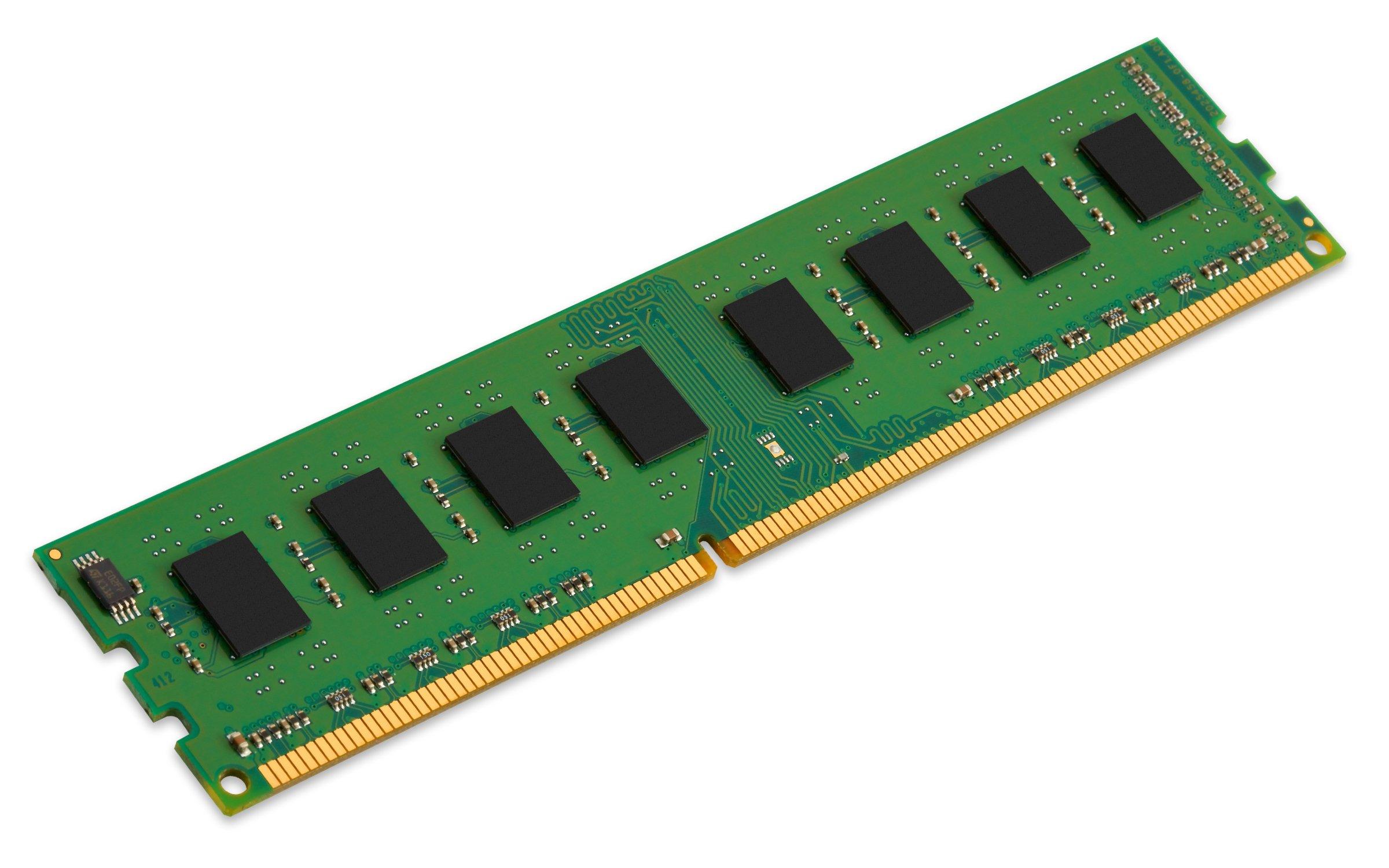 Memoria Ram 4gb Kingston Valueram 1333mhz Pc3-10600 Ddr3 Non-ecc Cl9 Dimm Sr X8 Std Height 30mm (kvr13n9s8h/4)