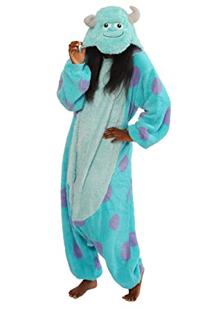 c395ddcf99 Amazon.com  Sulley Kigurumi - Adult Costume  Clothing