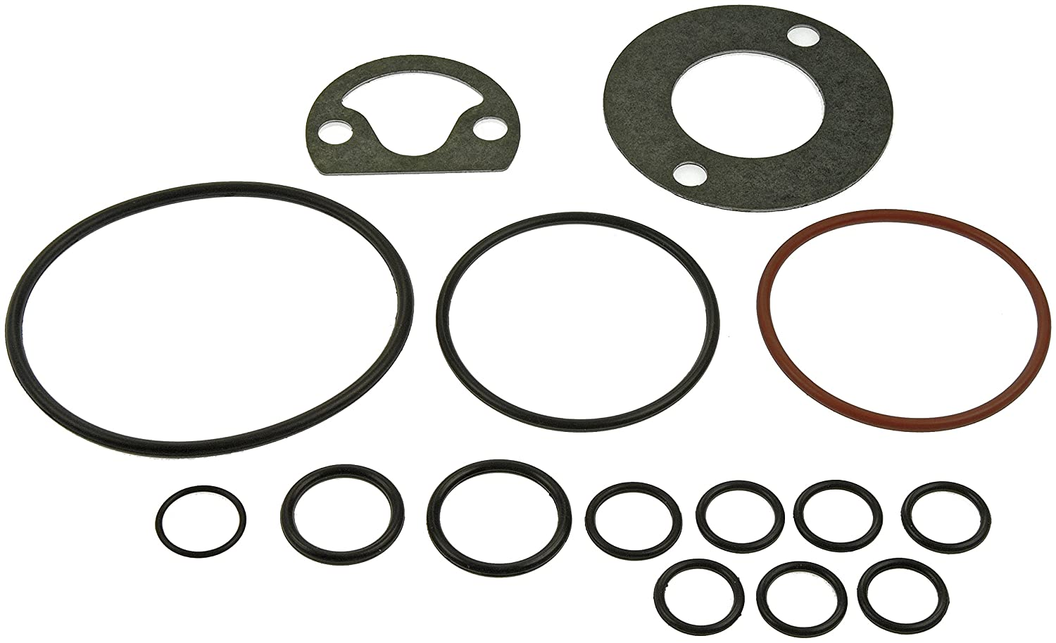 Dorman 82560 Oil Adapter and Cooler Gasket Assortment, 15 Piece Dorman - HELP