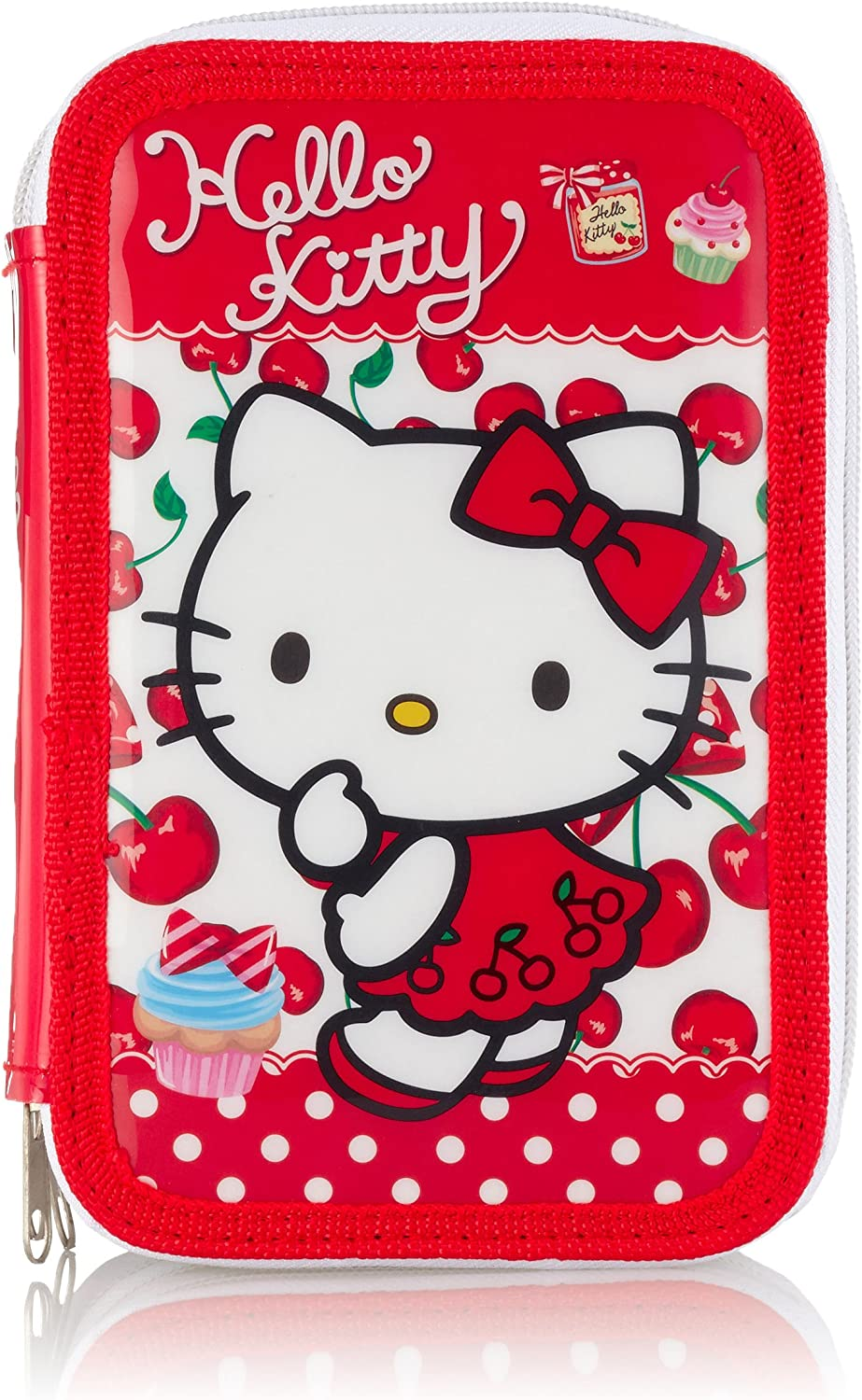 Hello Kitty as7567 – Estuche 3 bisagras: Amazon.es: Equipaje