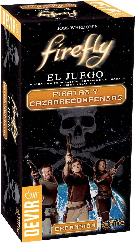 Devir Firefly, Piratas y cazarrecompensas, Miscelanea (BGFLY3): Amazon.es: Juguetes y juegos