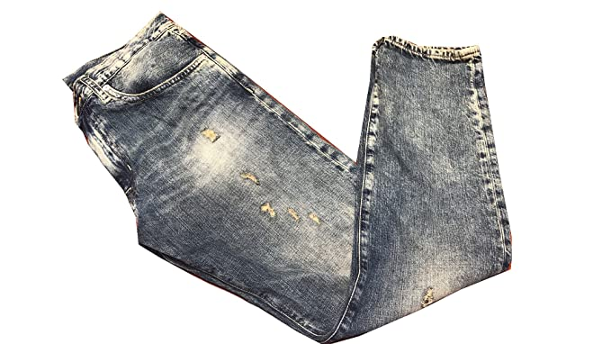 981252cb6 Image Unavailable. Image not available for. Colour  Denim   Supply Ralph  Lauren Distressed Boyfriend Jeans