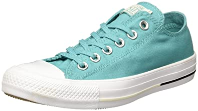 2662aa472bb7 Converse Chuck Taylor All Star Aegan Aqua Textile Trainers  Amazon ...