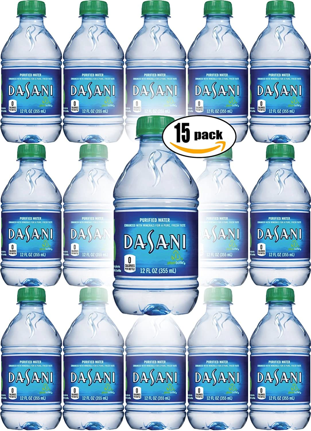 Amazon Dasani Water Enhanced With Minerals 12 Fl Oz Pack Of
