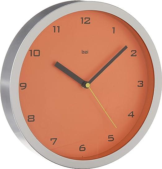 Gotham Tangerine Bai 834.GT Designer Wall Clock