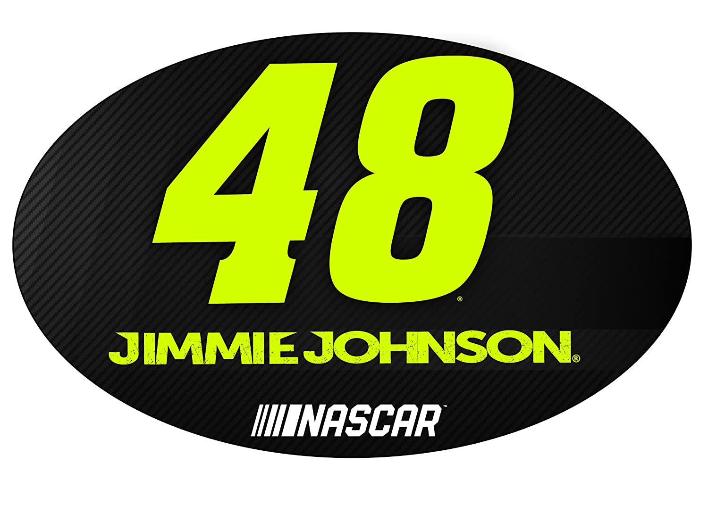 【クーポン対象外】 Jimmie 48 Johnson B07BH4MC9S # 48 # NASCAR楕円形マグネット B07BH4MC9S, カネガサキチョウ:450db17d --- martinemoeykens.com