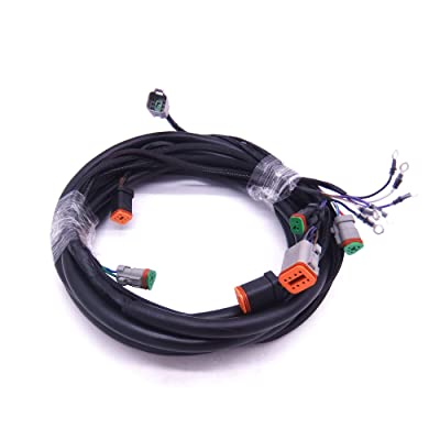 0176340 176340 SystemCheck 15ft Main Modular Wiring Harness Cable for Evinrude Johnson OMC Outboard Motor Remote Control Box 5006180: Sports & Outdoors