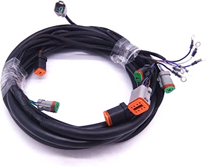 0176340 176340 SystemCheck 15ft Main Modular Wiring Harness Cable for on johnson outboard repair manual, johnson outboard amplifier, johnson outboard motor starter,