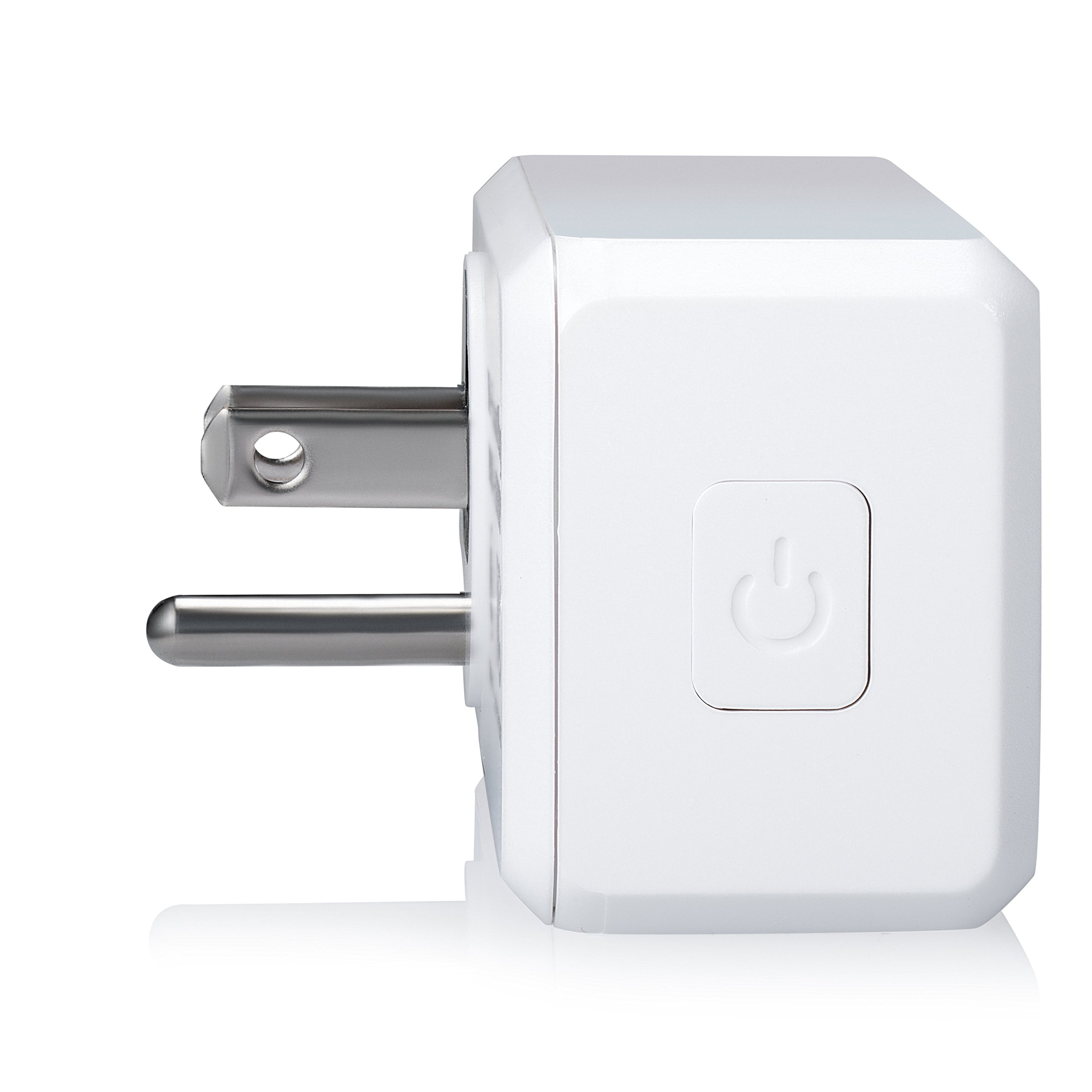 Ora Alexa-Enabled Wi-Fi Mini Smart Plug, White (Pack of 2) by ORA (Image #4)