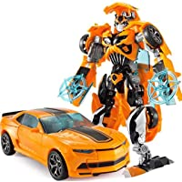 Mumoo Bear Transformers Dual Model Kit Bumblebee