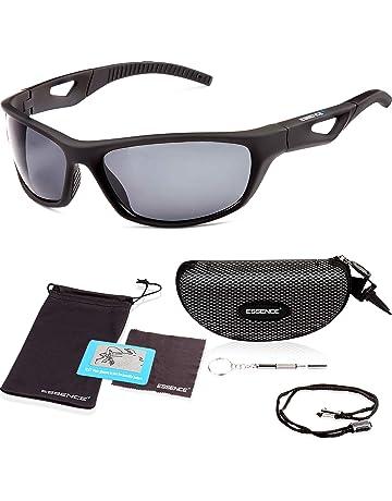 555d8f452e89 essence' Polarised Sports Sunglasses Mens & Womens – UV400 Eye Protection  Cycling Glasses – Also