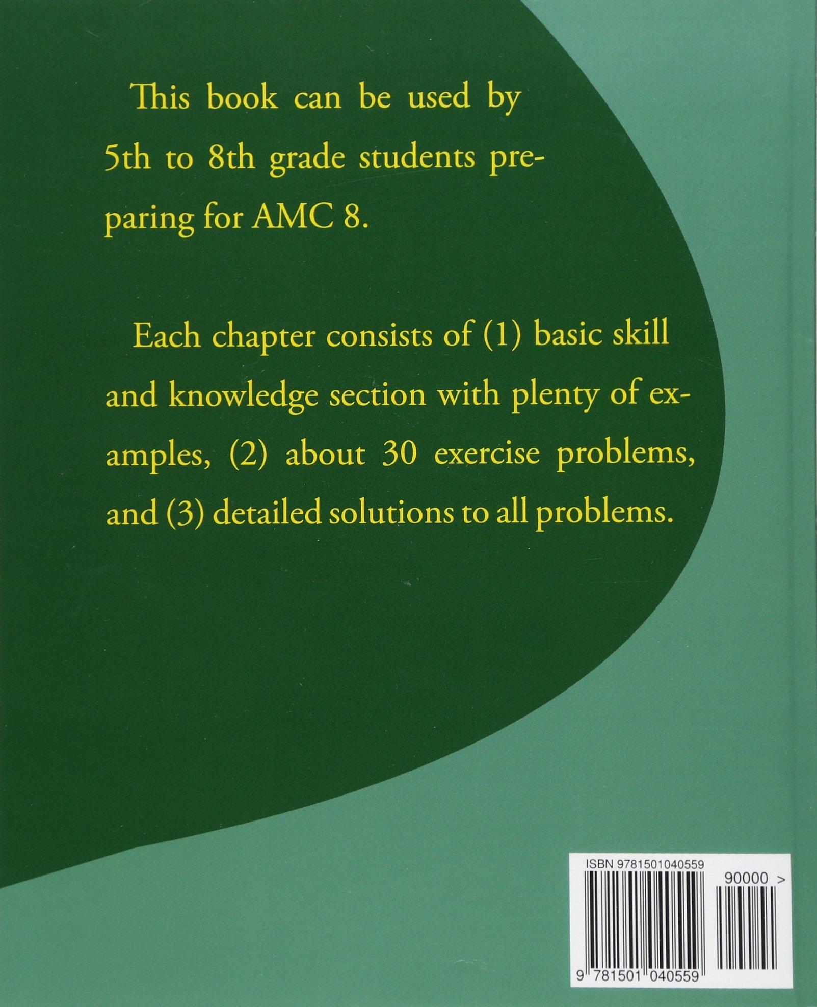 Amazon.com: American Mathematics Competitions (AMC 8) Preparation (Volume  3) (9781501040559): Sam Chen, Yongcheng Chen: Books