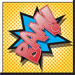Birthday Express Superhero Comics Party Supplies - Lunch Napkins (20)