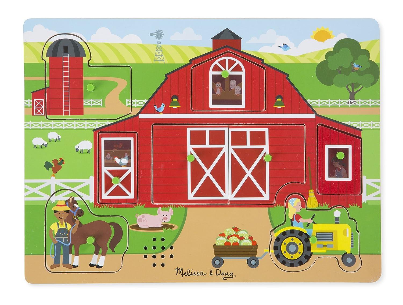 Around The Farm Sound Puzzle 42800 Melissa /& Doug