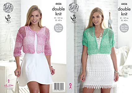 Amazon King Cole Ladies Double Knitting Pattern Womens Easy