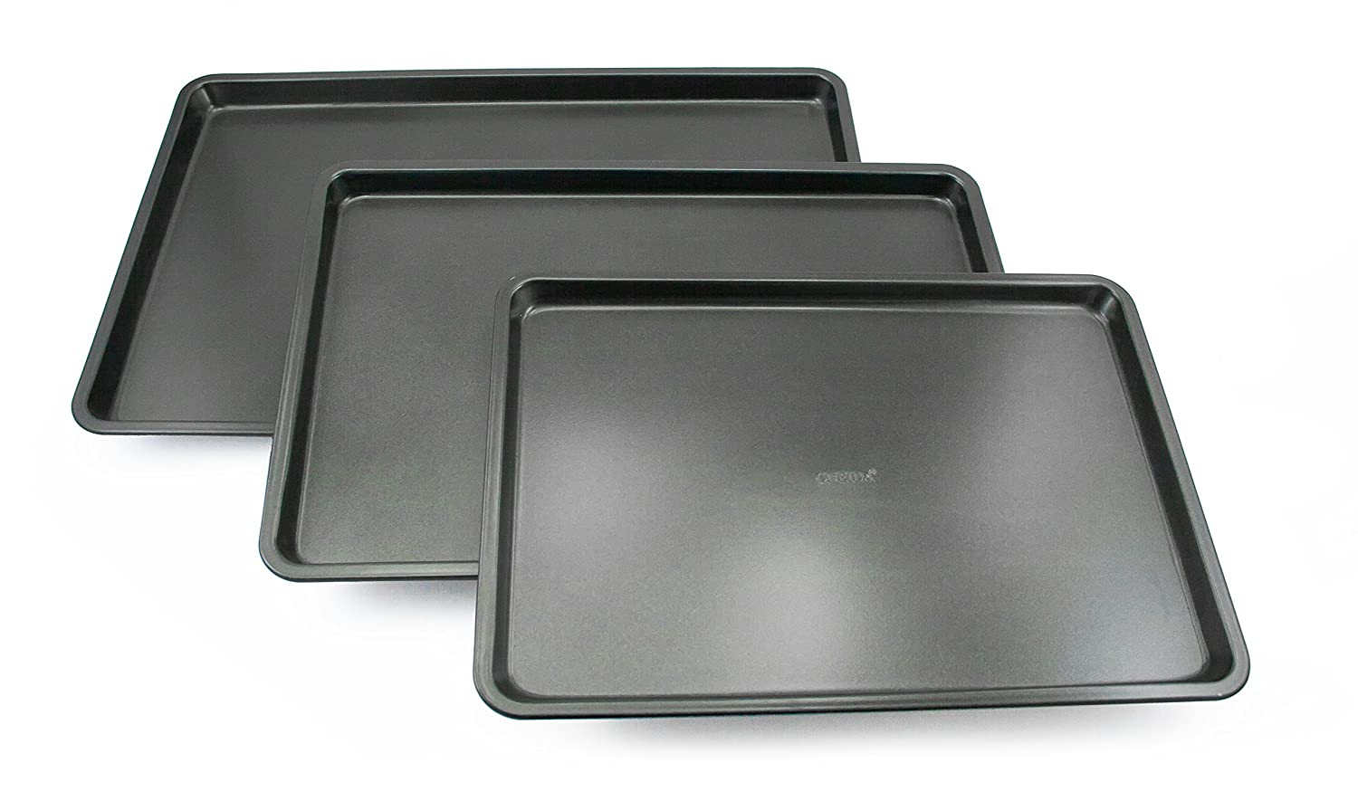 Oneida 3pc Non-Stick Cookie Sheet Set COMIN18JU063505
