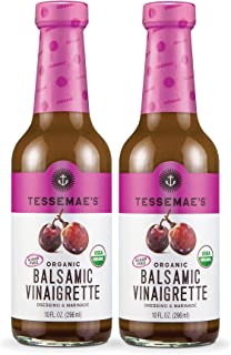 product image for Tessemae's All Natural Salad Dressing 2-Pack (Organic Balsamic)