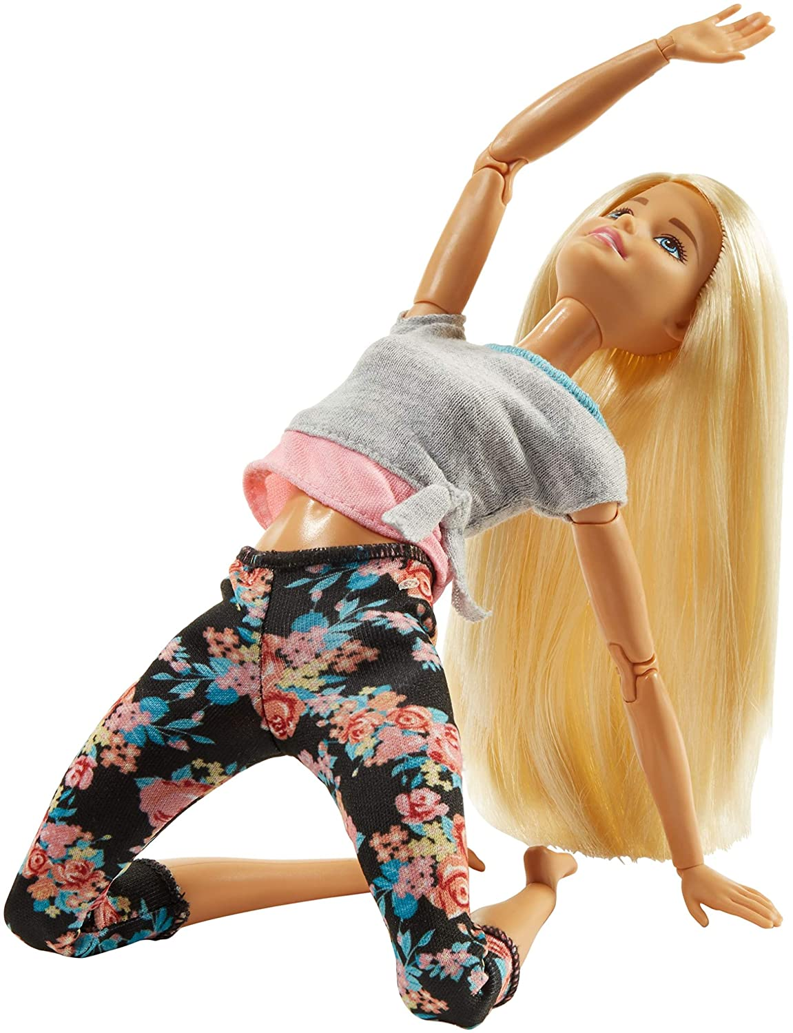 Barbie Made To Move Doll, Blonde Mattel FTG81
